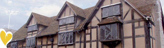 View Of Shakespeares Birthplace