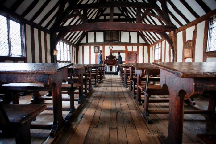 Shakespeare S Schoolroom And Guildhall